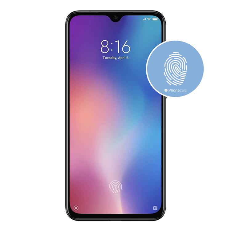 Austausch Fingerabdrucksensor / Fingerprint / Touch ID Xiaomi Mi 9 SE (M1903F2G)