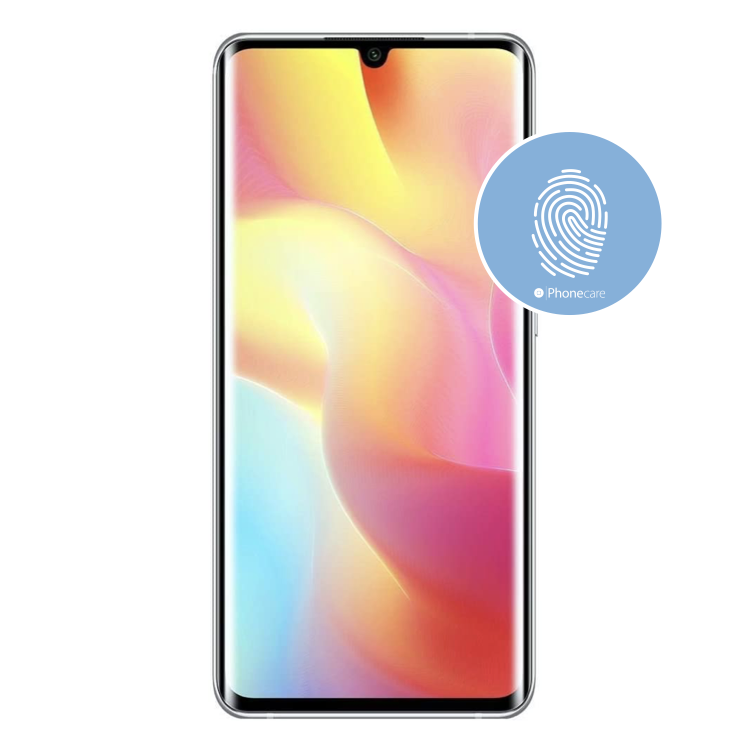 Austausch Fingerabdrucksensor / Fingerprint / Touch ID Xiaomi Mi Note 10 Lite (M2002F4LG)